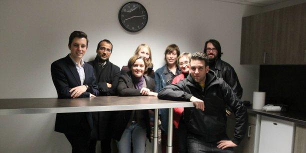 Une dizaine de personnes ont participé à la première réunion du projet