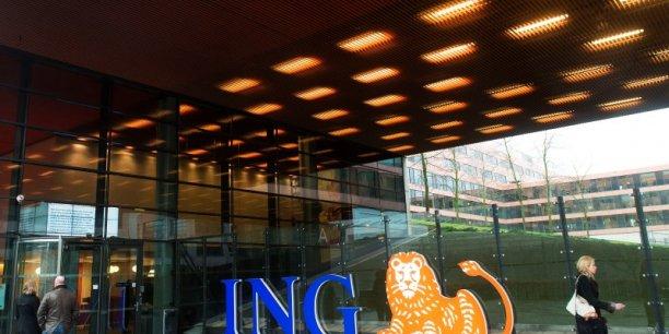 ING a néanmoins indiqué avoir enregistré un bénéfice net de 1,25 milliard d'euros, en chute de 64,7% par rapport à 2013.