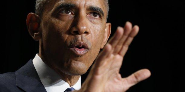 Interrogé par un site américain spécialisé, Barack Obama a insisté sur le fait que souvent les sociétés européennes n'arrivent pas à rivaliser avec leurs concurrentes d'outre-Atlantique.