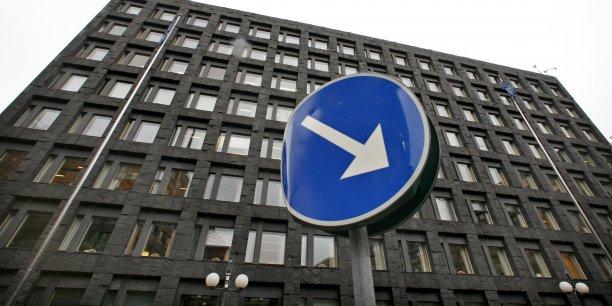 Le siège de la Riksbank, la banque centrale suédoise, à Stockholm.