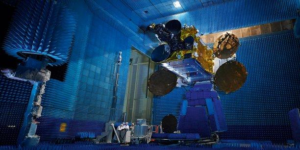 Intespace réalise les essais des satellites.