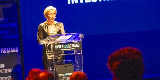Marie-Hélène Thoraval a convié des investisseurs le 28 janvier dernier.