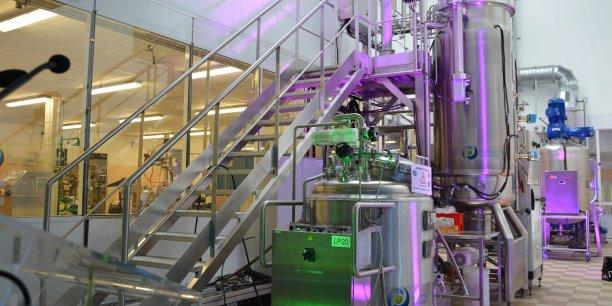 La construction de l'Unité de développement industriel doit permettre à la société de disposer d'une capacité de production initiale supérieure à 400 tonnes d'huiles de microalgues par an