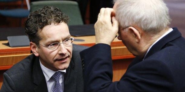Jeroen Dijsselbloem, président de l'Eurogroupe