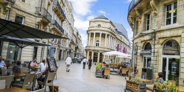 Bordeaux est une des trois communes de la métropole où se concentrent les activités métropolitaines supérieures