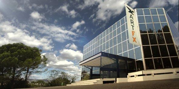 Le futur site d'ArtFx, où l'école s'installera en septembre