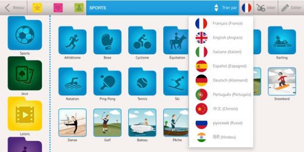 L'application TalkDifferent est disponible sur Apple et Android