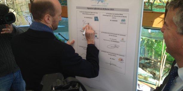 Martin Guespereau veut passer à la deuxième étape de la dépollution de l'Arve.