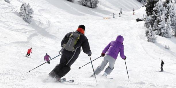 Les skieurs ont profité de conditions idéales en février.