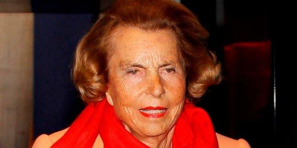 Liliane Bettencourt, première fortune française