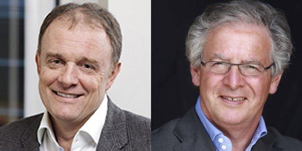 Alain Capestan et René-Marc Chikli