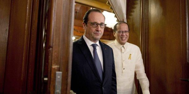 Les pays en développement qui ont le moins contribué au changement climatique sont ceux qui souffrent le plus de ses effets, a déclaré François Hollande.