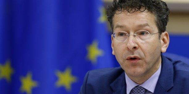 Jeroen Dijsselbloem, le président de l'Eurogroupe