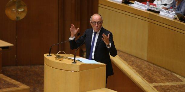 Jean-Louis Chauzy, président du Ceser Midi-Pyrénées