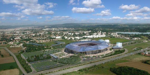 A 20 kilomètres de Lyon, le futur grand stade de l'OL se dressera sur la commune de Décines-Charpieu.