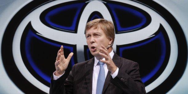 Ancien patron de Toyota Europe, Didier Leroy est le premier étranger à accéder au poste de numéro deux de Toyota monde.