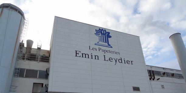 Le groupe Emin Leydier possède une papeterie à Laveyron, en nord Drôme.