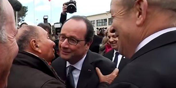 Mercredi à Mérignac, il y avait une vraie complicité entre François Hollande et Serge Dassault