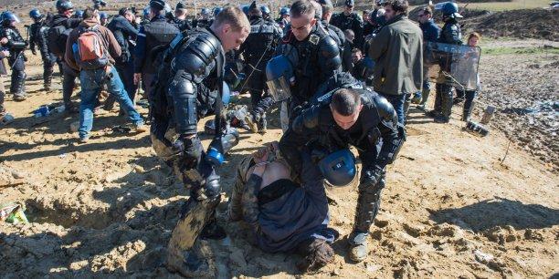 La Zad a été évacuée aujourd'hui par les forces de l'ordre