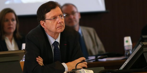 Thierry Carcenac siège au Conseil général du Tarn depuis 36 ans. Crédits: Rémi Benoit.