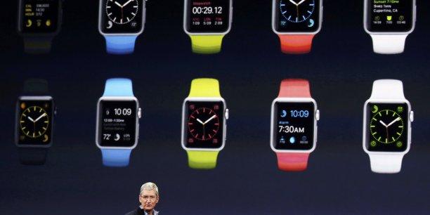 L'Apple Watch sera lancée dans neuf pays le 24 avril.