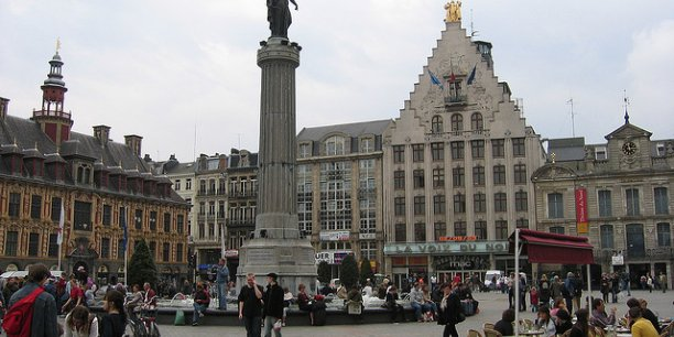 Dans le Nord-Pas-de-Calais, dont Lille est la métropole régionale, le taux de chômage a reculé en 2014