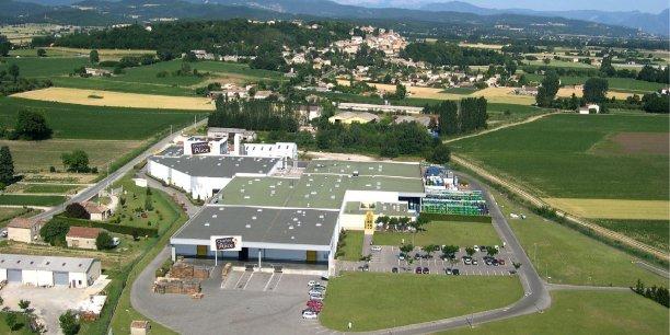 Le site de production est implanté à Allex, dans la Drôme.
