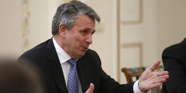 Ben van Beurden, le patron de Shell est le deuxième patron le mieux payé du FTSE 100 en 2014.