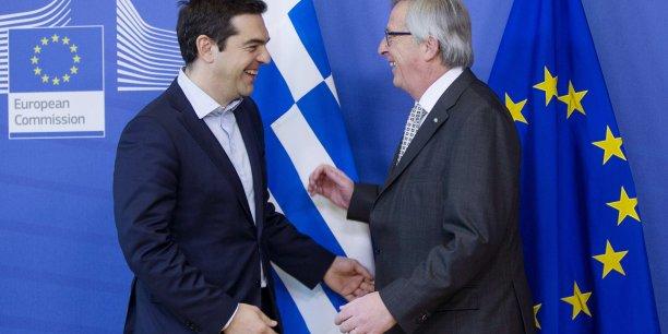 Jean-Claude Juncker a promis 35 milliards d'euros à la Grèce.