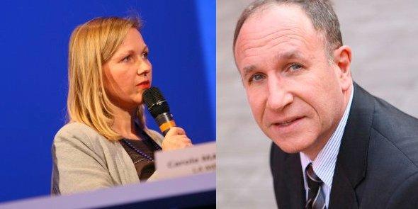 Carole Maurage et Jean-Louis Dasseux, deux personnes qui on fait l'actualité cette semaine