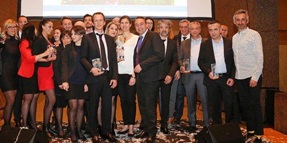 Les lauréats de la 12e édition des Pyramides d'Argent.