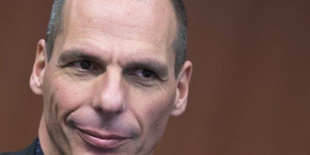 Yanis Varoufakis, ministre grec des Finances.