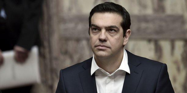 Lors de sa visite à Berlin le 23 mars, Alexis Tsipras a adopté un ton plus modéré, invitant ainsi à laisser derrière les ombres du passé. Mais la hache de guerre n'a pas été enterrée.
