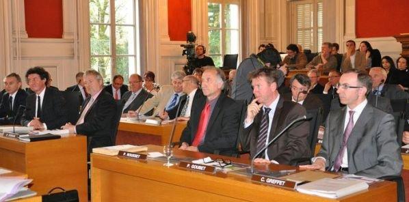Séances du Conseil général de l'Ain