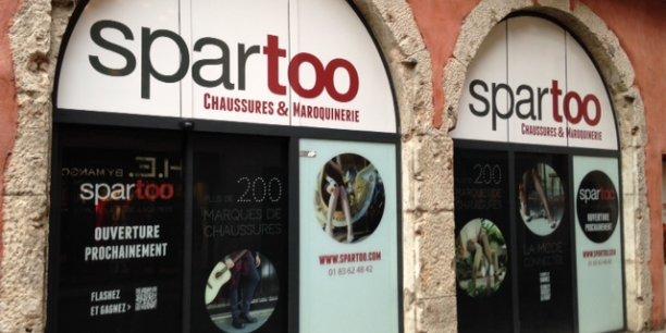 Spartoo a officiellement repris les magasins André en juillet 2018