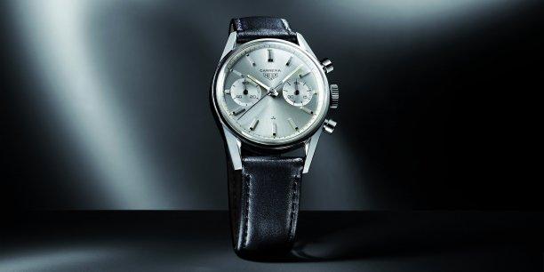 Les gens auront l'impression qu'ils portent une montre normale, la version digitale du modèle Black Carrera de Tag Heuer