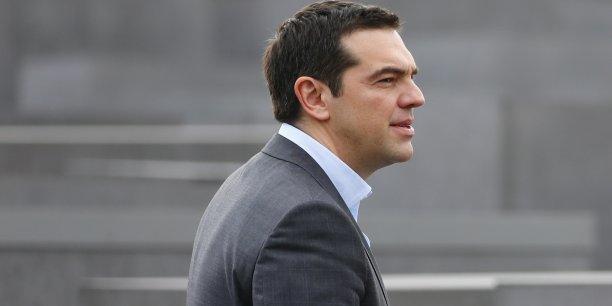 Alexis Tsipras est-il prêt à devenir le Lula grec comme le souhaiterait certains économistes? (Photo: Alexis Tsipras, à Berlin, le mardi 24 mars, visite le Mémorial de l'Holocauste.)