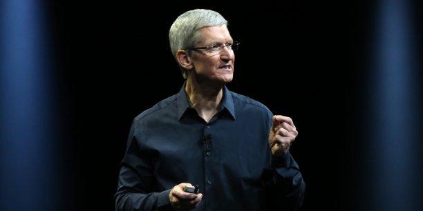 La fortune du patron d'Apple est estimée à 110 millions d'euros