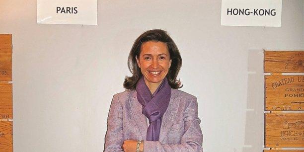 DG déléguée d'iDealwine, Angélique de Lencquesaing estime que les taux de change actuels pourraient permettre aux châteaux de maintenir les prix de vente en primeur des vins tout en permettant aux acheteurs en dollar de réaliser de bonnes affaires