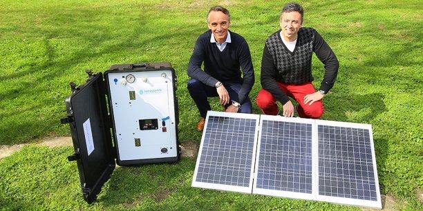 Christophe Camperi-Ginestet et Hervé Le Berre ont fondé Sunwaterlife
