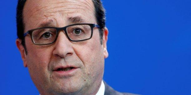 Le chef de l'État a annoncé la création avec les groupes d'assurances français et étrangers d'un fonds d'investissement de plus de 500 millions d'euros qui va apporter du capital, du financement de fonds propres pour les entreprises.