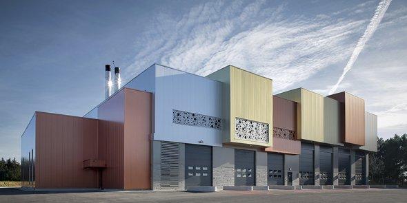 La centrale de trigénération du quartier Port Mariane est unique en France.