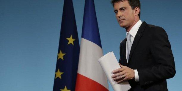 Manuel Valls a fait de l'investissement sa priorité