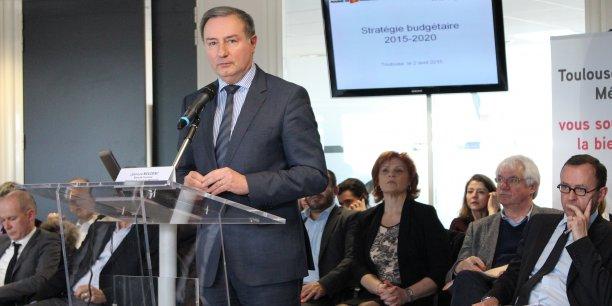 Jean-Luc Moudenc, maire de Toulouse et président de Toulouse Métropole