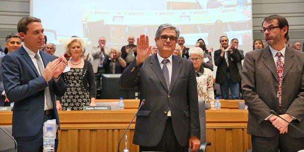 Georges Méric a été élu à 47 voix pour et 7 bulletins blancs.