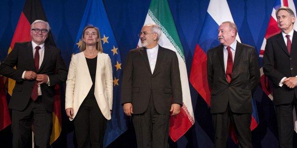 Les sanctions internationales seront suspendues lorsque l'AIEA (Agence internationale de l'énergie atomique) aura constaté que l'Iran s'est soumis à toutes ses obligations.