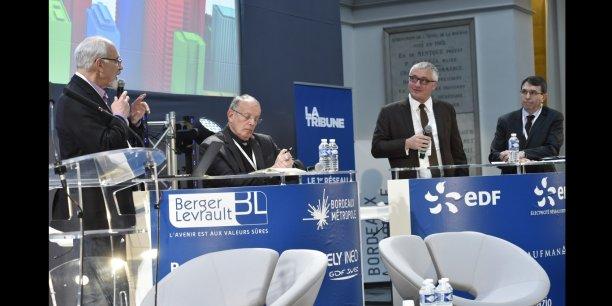 Francis Pisani, Michel Sudarskis, Alain Turby et Philippe Sajhau