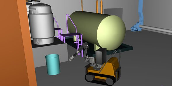 Le logiciel Demplus permet la simulation 3D du démantèlement de centrales nucléaires et bientôt d'autres installations industrielles.
