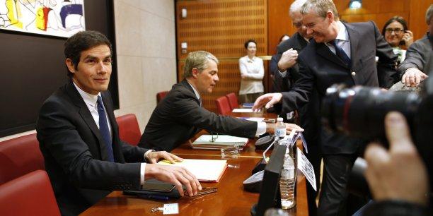 Mathieu Gallet a défendu devant les députés son projet stratégique qui implique près de 300 suppressions de postes.