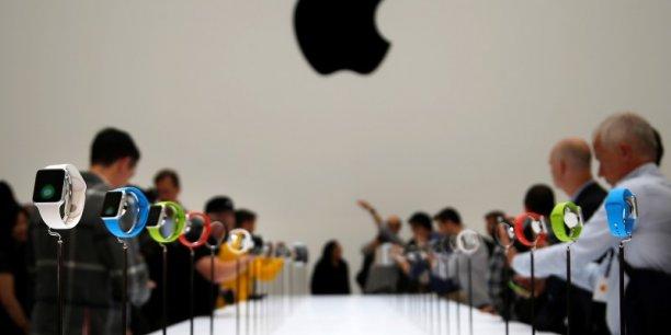 Mi-avril, la firme à la pomme comptait vendre 26 millions de son Apple Watch cette année.